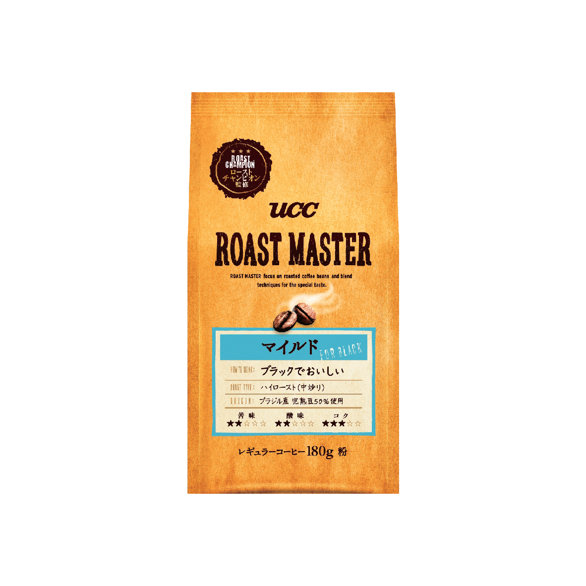 UCC Roast Master Mild Coffee Blend Ground Coffee