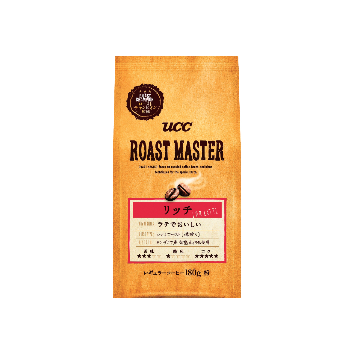 UCC Roast Master Rich Coffee Ground Coffee