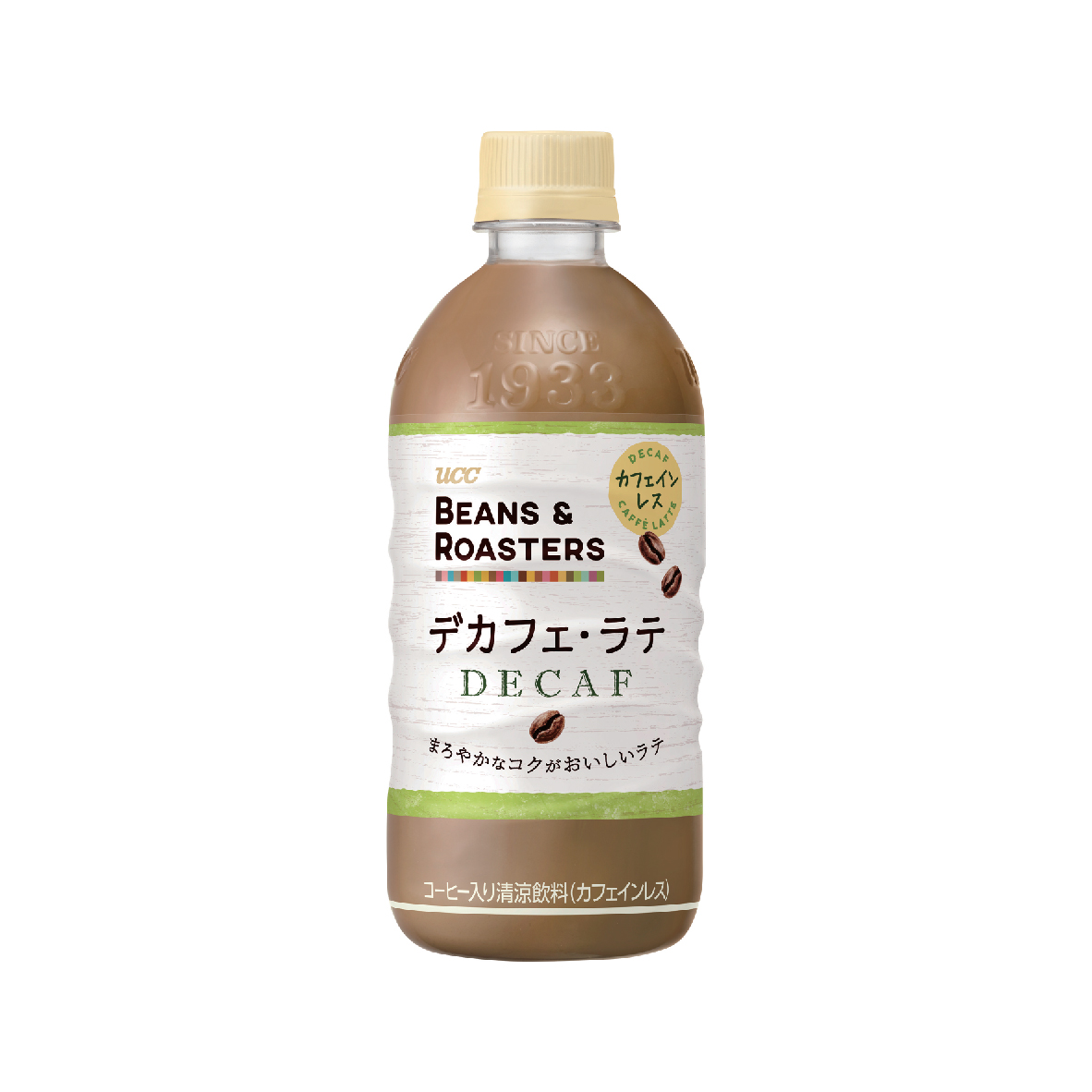 UCC Beans & Roasters Decaf Latte PET