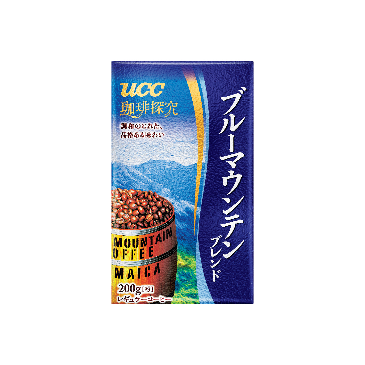 UCC Coffee Exploration Blue Mountain Blend Roasted Coffee