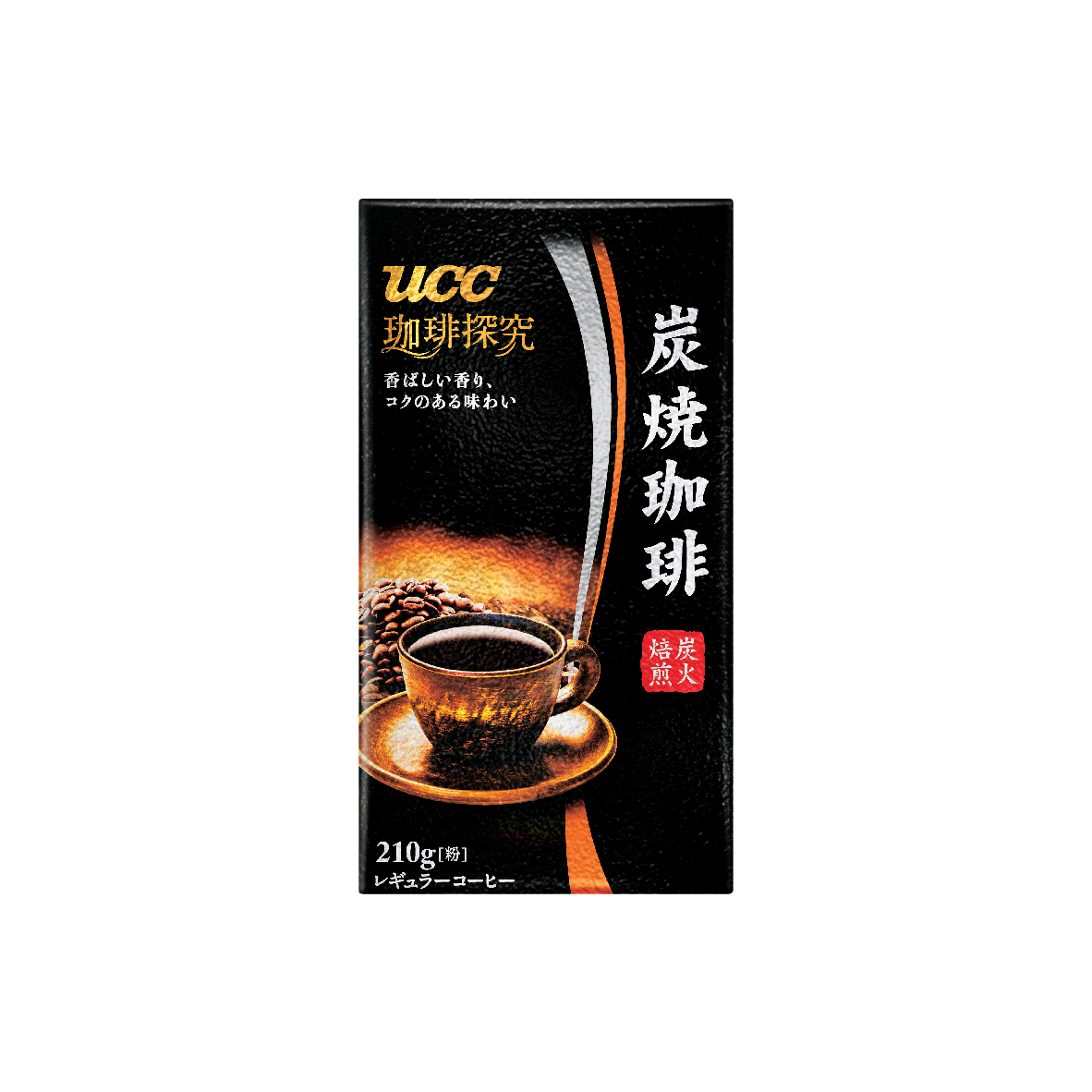 UCC Coffee Exploration Charcoal Roasted Coffee