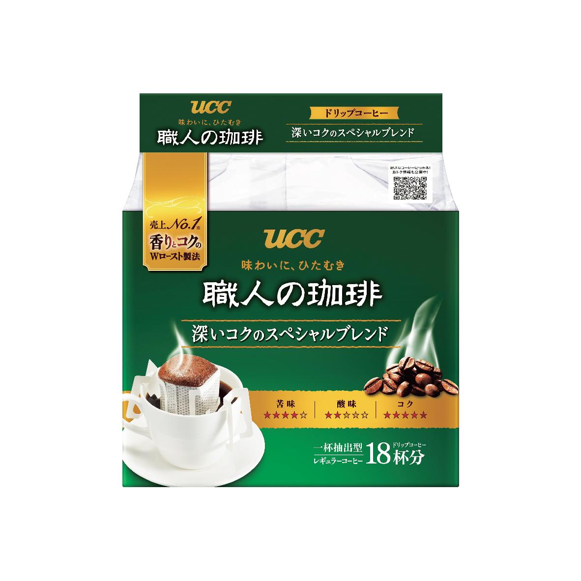 UCC Craftsman's Coffee Rich Drip Coffee