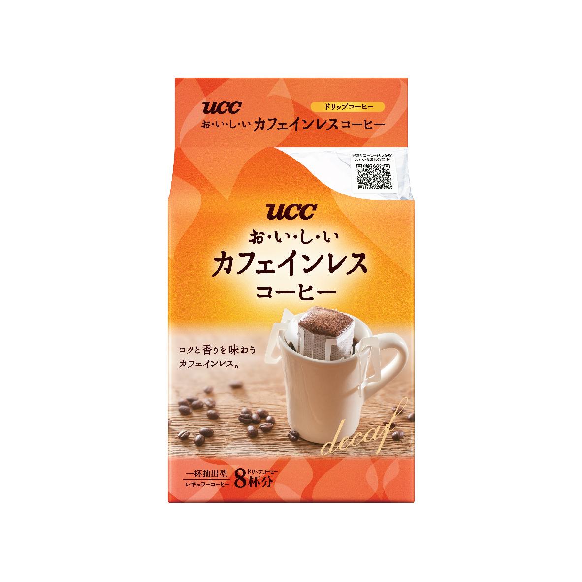 UCC Decaffeinated Drip Coffee