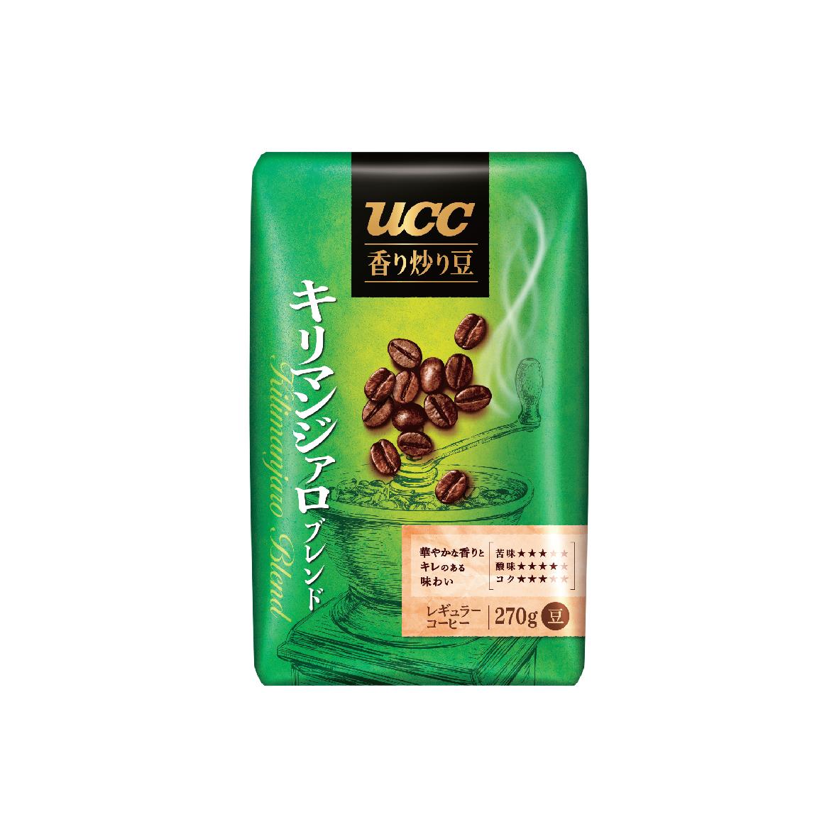 UCC Kilimanjaro Blend Roasted Coffee Beans