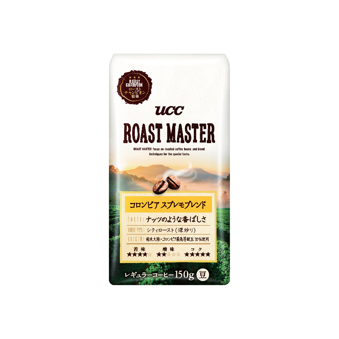 UCC Roast Master Columbia Supremo Coffee Blend Roasted Coffee Beans