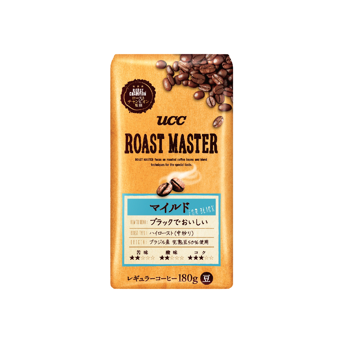 UCC Roast Master Mild Coffee Blend Roasted Coffee Beans