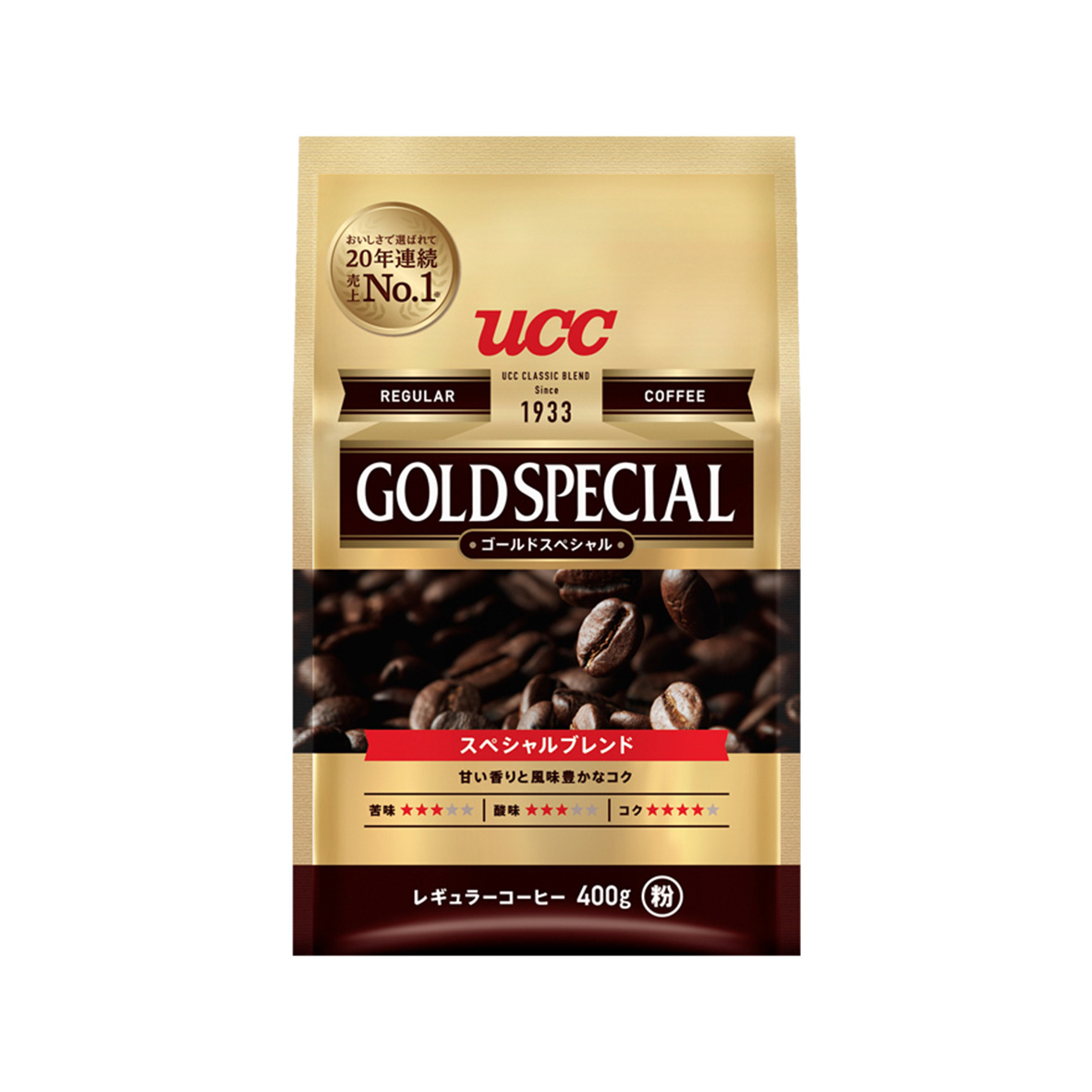 UCC 進口金質精選研磨咖啡粉