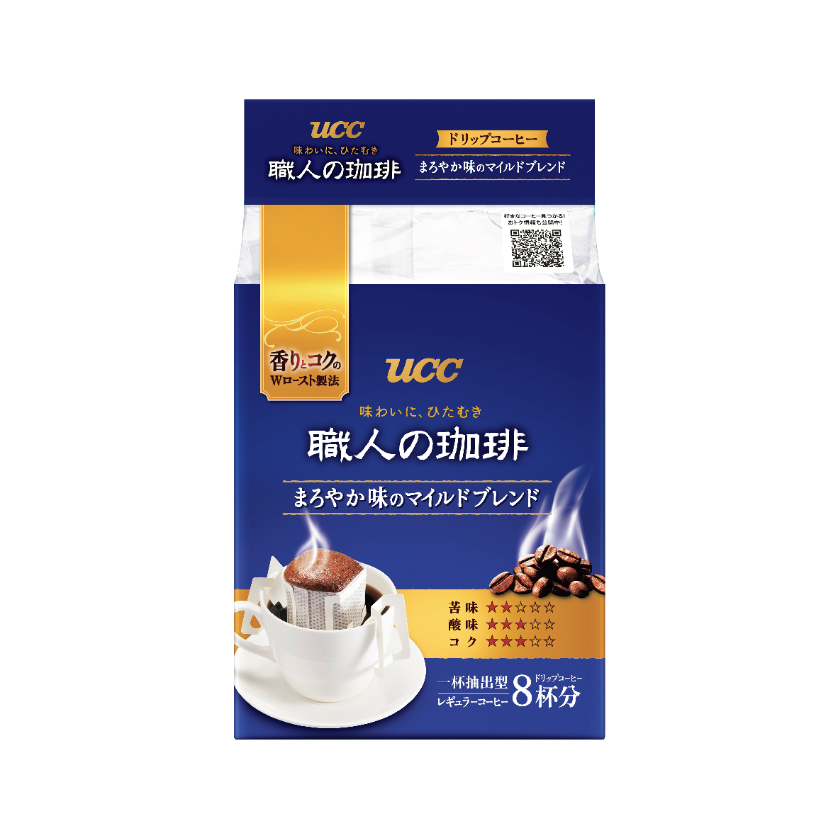 UCC Craftsman's Coffee Mild Drip Coffee