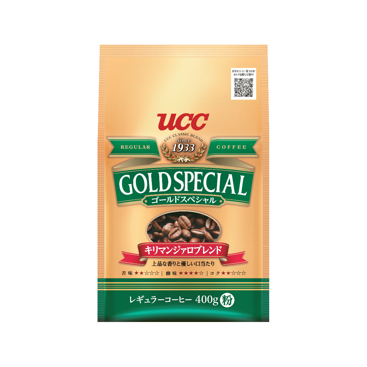 UCC Gold Special Kilimanjaro Blend Roasted Coffee