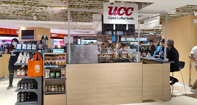 UCC Coffee Counter Grand Opening